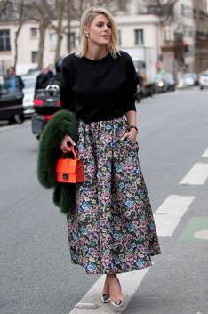 Floral skirt inspiration